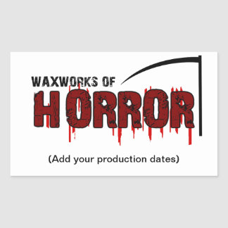 Waxworks of Horror Sticker