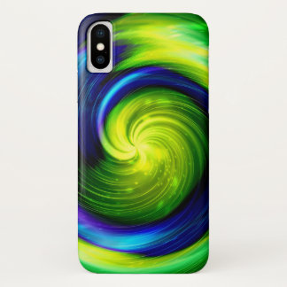 Way Galaxy and Orion Nebula iPhone X Case
