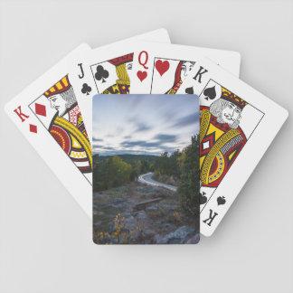 Way light playing cards