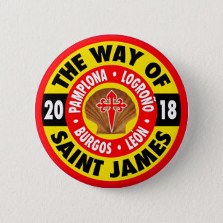 Way of Saint James 2018 2 Inch Round Button