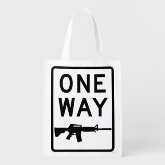 Way of the Gun Reusable Grocery Bag