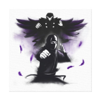Way of the Hidden Fist Canvas Print