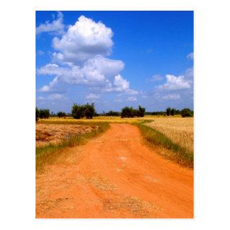 Way  on the  farm postcard