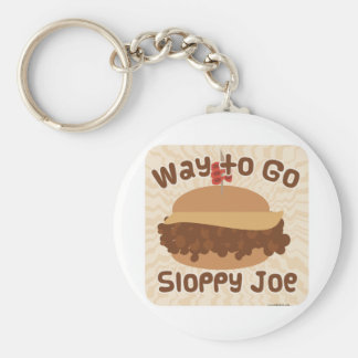 Way To Go Sloppy Joe Keychain