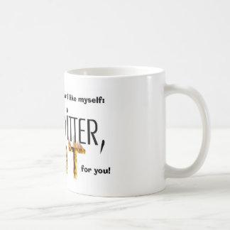 Way Too Hot coffee. Coffee Mug