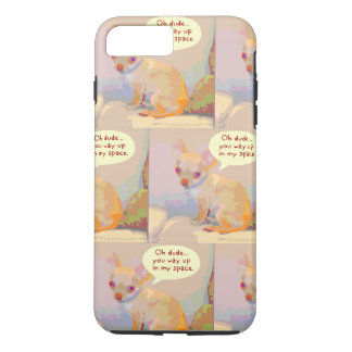 Way up in my Space Chihuahua Phone Case