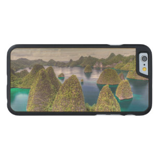 Wayag Island landscape, Indonesia Carved Maple iPhone 6 Case