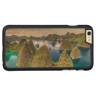 Wayag Island landscape, Indonesia Carved Maple iPhone 6 Plus Case