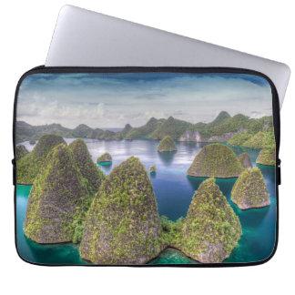 Wayag Island landscape, Indonesia Computer Sleeve
