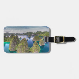Wayag Island landscape, Indonesia Luggage Tag