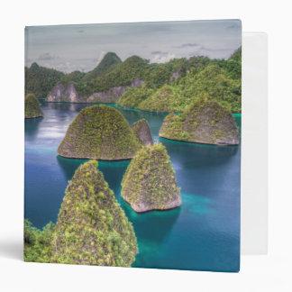 Wayag Island landscape, Indonesia Vinyl Binder
