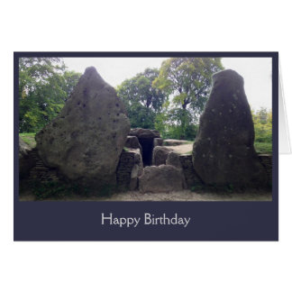 Wayland's Smithy birthday card