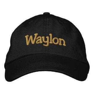 Waylon Personalized Baseball Cap / Hat