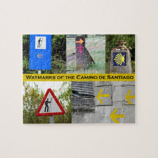 Waymarks of the Camino Puzzle