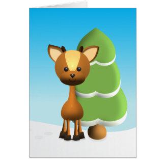Wayne Deer Card