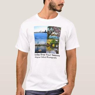 Wayne Oxford Photography Charles River Four Season T-Shirt