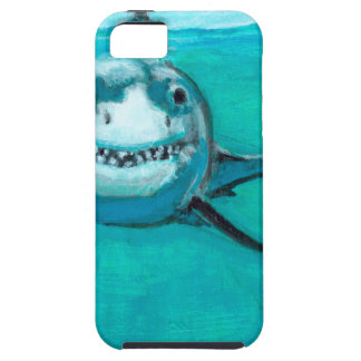 """""""Wayne"""" The Great White Shark Case For The iPhone 5"""