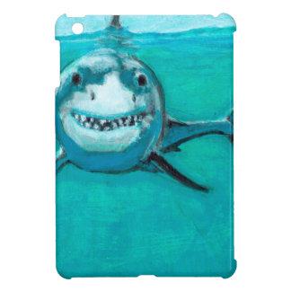 """Wayne"" The Great White Shark iPad Mini Cover"
