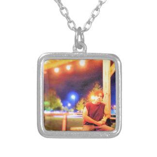 WayneRayChavis Souvieniers Silver Plated Necklace