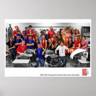 Waynesboro Indoor 2003-2004 - Championships Poster
