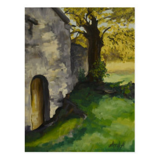 wayside chapel in Provence Postcard