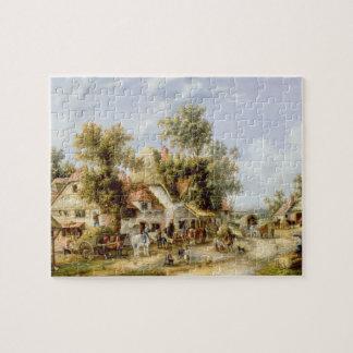 Wayside Inn Jigsaw Puzzle