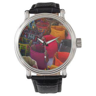 Wayuu mochilas bags for sale in Colombia Wrist Watch