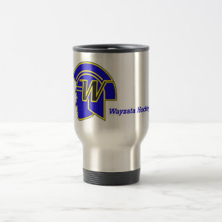 Wayzata Hockey Travel Mug - coffee