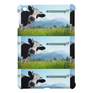 wazaaaaap cow iPad mini covers