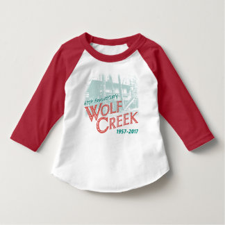 WC60th Design1 - Toddler AmerApparel Raglan (Red) T-Shirt