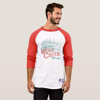 WC 60th Design 1 - Men's Champion Raglan (Red) T-Shirt