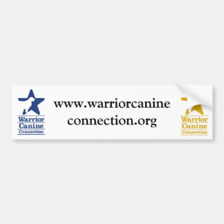 WCC website bumper sticker
