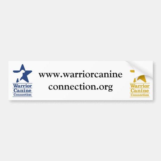 WCC website bumper sticker
