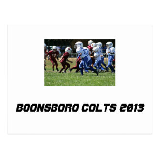 Wcjfl Boonsboro Colts Postcard