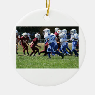 Wcjfl Boonsboro Colts Round Ceramic Ornament