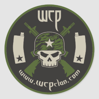 WCP magfed paintball sticker