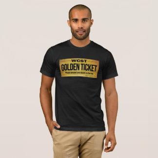 WCST GOLDEN TICKET  Men's Basic American Apparel T-Shirt
