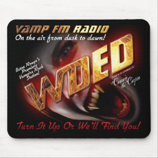 WDED FM Radio Mouse Pad