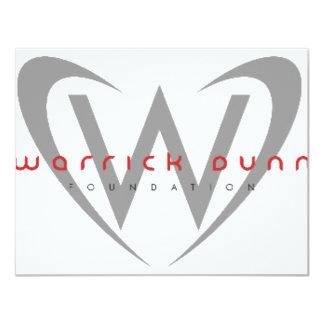 "WDF 4.25"" X 5.5"" INVITATION CARD"