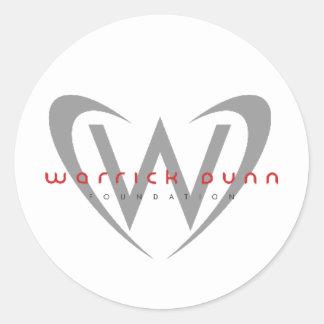 WDF ROUND STICKER