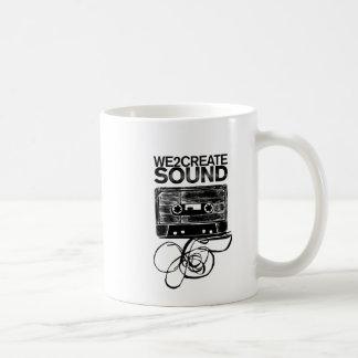 We2Create Sound K7 Classic White Coffee Mug