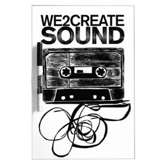 We2Create Sound K7 Dry-Erase Board