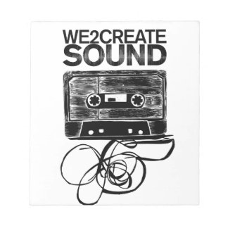 We2Create Sound K7 Notepad