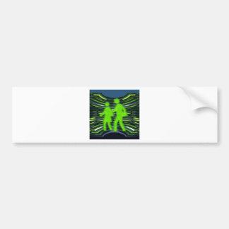 We Adore GREEN Champions Walk Talk Inspire NVN240 Bumper Sticker