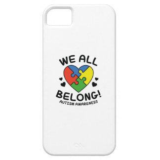 We All Belong iPhone 5 Case