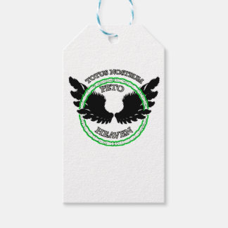 WE ALL GO TO HEAVEN GIFT TAGS