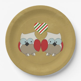 We All Love It Christmas Party Paper Plates
