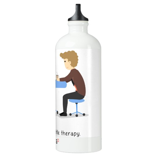 We all need a little therapy - waterbottle