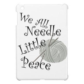 We All Needle Little Peace Zen Knitting iPad Mini Covers