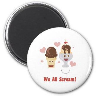 We All Scream Magnet
